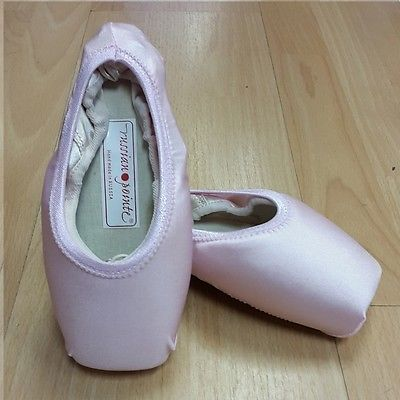 Pink Pointe shoe covers