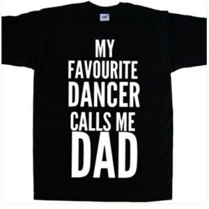 My Favourite Dancer Calls me Dad Dance Dad T-shirt