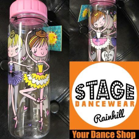 ballerina water bottle